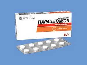 Передозировка парацетамолом, симптомы и лечение